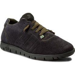 Półbuty SLOW WALK - Morvi 10404 Jeans Leather Black. Niebieskie półbuty na co dzień męskie Slow Walk, z jeansu. W wyprzedaży za 259.00 zł.