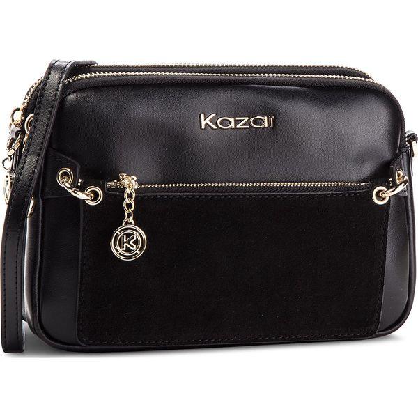adf2df2b Torebka KAZAR - Rita 34398-05-00 Black - Czarne torebki do ręki ...