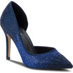 Szpilki MENBUR - 09749 Midnight Blue 0021. Niebieskie szpilki damskie Menbur, z materiału. Za 349.00 zł.