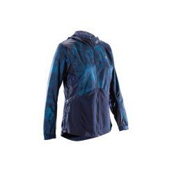 Bluza na zamek fitness kardio 520 damska. Niebieskie bluzy damskie DOMYOS. W wyprzedaży za 59.99 zł.