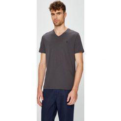 U.S. Polo - T-shirt. Szare koszulki polo męskie U.S. Polo, z bawełny. W wyprzedaży za 139.90 zł.