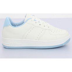 Buty sportowe biało niebieskie LV75P L.BLUE | Buty, Buty