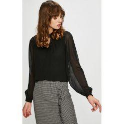 Vero Moda - Bluzka Soffie. Szare bluzki damskie Vero Moda, z poliesteru, casualowe, z okrągłym kołnierzem. Za 149.90 zł.