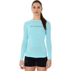 Brubeck Koszulka damska 3D Run Pro błękitna r. M (LS13140). T-shirty damskie Brubeck. Za 151.27 zł.