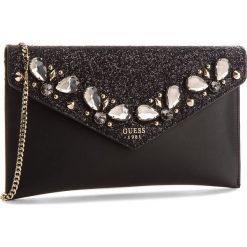 Torebka GUESS - Summer Night City Mini HWVG69 97280  BLA. Czarne torebki do ręki damskie Guess, z aplikacjami, ze skóry ekologicznej. Za 449.00 zł.