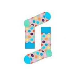 Skarpetki Happy Socks BDO01-1001. Brązowe skarpety męskie Happy Socks, z bawełny. Za 24.43 zł.