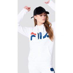 FILA Bluza z kapturem Classic Logo - White. Białe bluzy damskie Fila, z nadrukiem. Za 242.95 zł.