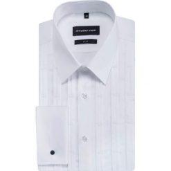 Koszula SIMONE SLIM KDBS000362. Białe koszule męskie Giacomo Conti, z bawełny, z klasycznym kołnierzykiem, z długim rękawem. Za 299.00 zł.