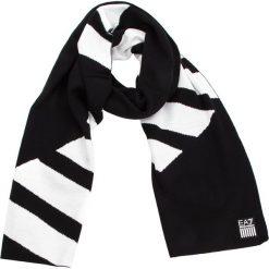 Szal EA7 EMPORIO ARMANI - 275810 8A304 00020 Black. Szare szaliki i chusty damskie marki Giacomo Conti, na zimę, z tkaniny. W wyprzedaży za 249.00 zł.