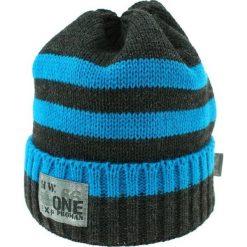 Czapka zimowa CZ 036D niebiesko-grafitowa r. 50-54. Czapki dla dzieci marki Reserved. Za 41.99 zł.