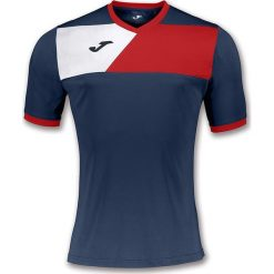 Joma sport Koszulka piłkarska Crew II granatowa r. 164 cm (100611.306). Koszulki sportowe męskie marki bonprix. Za 52.51 zł.