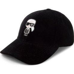 Czapka z daszkiem KARL LAGERFELD - 86KW3411 Black. Czapki i kapelusze damskie marki WED'ZE. W wyprzedaży za 259.00 zł.