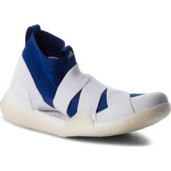 Buty adidas - PureBoost X Trainer 3.0 LL DA8963  Ashsil/Clemin/Shoyel. Białe obuwie sportowe damskie Adidas, z materiału. W wyprzedaży za 449.00 zł.