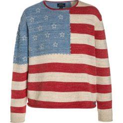 Polo Ralph Lauren FLAG  Sweter multicolor. Swetry dla dziewczynek Polo Ralph Lauren, z bawełny, polo. Za 399.00 zł.