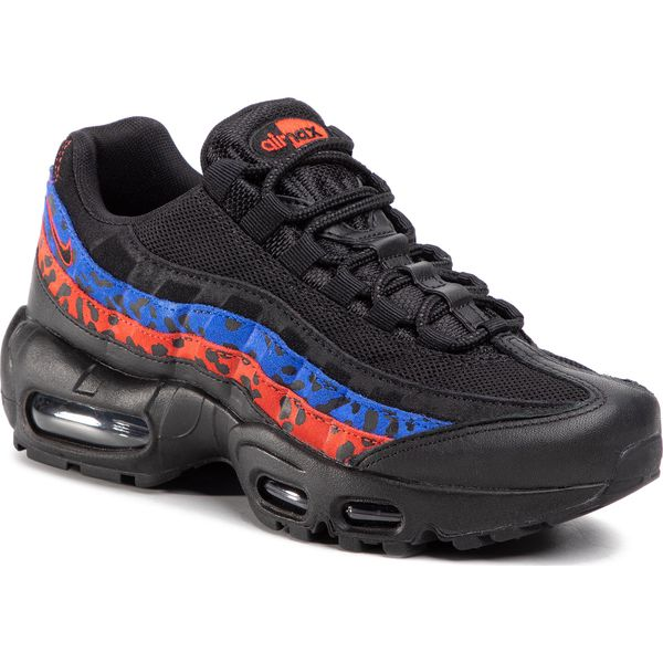 Buty NIKE Air Max 95 Prm CD0180 001 BlackBlackHabanero Red
