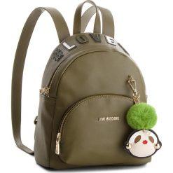 Plecak LOVE MOSCHINO - JC4072PP16LK0850  Verde. Zielone plecaki damskie Love Moschino, ze skóry ekologicznej, klasyczne. Za 959.00 zł.