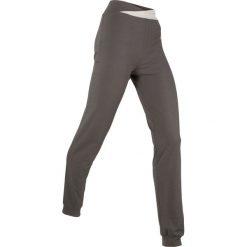 Spodnie sportowe, długie, Level 1 bonprix szary-matowy srebrny. Szare spodnie dresowe damskie bonprix. Za 59.99 zł.
