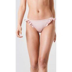 Trendyol Dół bikini z falbanką - Pink,Nude. Różowe bikini damskie Trendyol. Za 60.95 zł.