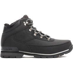 Czarne Traperki Cold Front. Czarne buty zimowe chłopięce Born2be, z materiału. Za 74.99 zł.