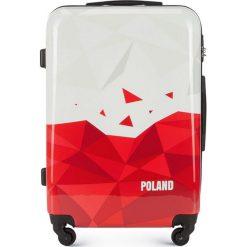 Walizka średnia 56-3A-242-TR. Brązowe walizki damskie Wittchen, z gumy. Za 199.00 zł.
