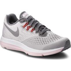 Buty NIKE - Zoom Winflo 4 898485 010 Atmosphere Grey/Gunsmoke. Szare obuwie sportowe damskie Nike, z materiału. W wyprzedaży za 309.00 zł.