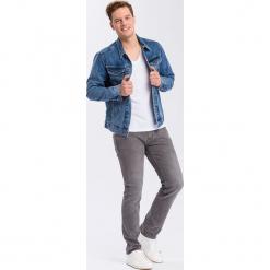 """Dżinsy """"Johnny"""" - Slim fit - w kolorze szarym. Szare jeansy męskie Cross Jeans. W wyprzedaży za 136.95 zł."""