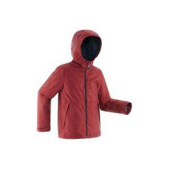 Kurtka SH100 WARM dla dzieci. Niebieskie kurtki i płaszcze dla chłopców QUECHUA. Za 99.99 zł.