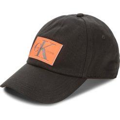 Czapka z daszkiem CALVIN KLEIN JEANS - J Re-Issue Leather P K40K400082  001. Czarne czapki i kapelusze męskie Calvin Klein Jeans. Za 179.00 zł.