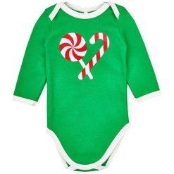 Garnamama Body Świąteczne Christmas 56 Zielone. Body niemowlęce marki Pollena Savona. Za 29.00 zł.