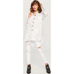 Koszula we wzory - Biały. Koszule damskie marki SOLOGNAC. W wyprzedaży za 39.99 zł.