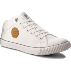 Trampki BIG STAR - AA174016 White. Białe trampki męskie Big Star, z gumy. Za 109.00 zł.