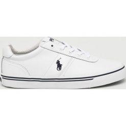 Polo Ralph Lauren - Buty. Szare buty sportowe męskie Polo Ralph Lauren, z materiału. Za 429.90 zł.
