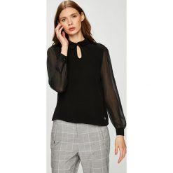 Trussardi Jeans - Bluzka. Szare bluzki damskie TRUSSARDI JEANS, z jeansu, casualowe. W wyprzedaży za 379.90 zł.