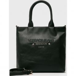 Versace Jeans - Torebka. Czarne torby na ramię damskie Versace Jeans. Za 699.90 zł.