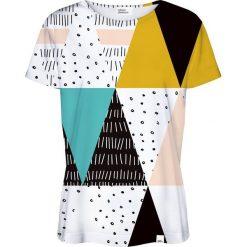 Colour Pleasure Koszulka damska CP-030 22 biało-czarna r. XXXL/XXXXL. T-shirty damskie Colour Pleasure. Za 70.35 zł.
