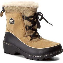 Śniegowce SOREL - Youth Torino III NY1892 Curry/Black 373. Buty zimowe chłopięce Sorel, z gumy. W wyprzedaży za 259.00 zł.