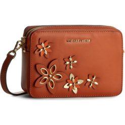 Torebka MICHAEL MICHAEL KORS - Flowers 32H6GFAM2T  Orange. Brązowe listonoszki damskie MICHAEL Michael Kors, ze skóry. W wyprzedaży za 759.00 zł.
