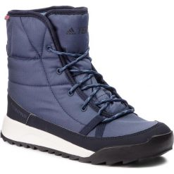 Śniegowce adidas - Terrex Choleah Padded Cp AC7847 Trablu/Legink/Cblack. Niebieskie śniegowce i trapery damskie Adidas, z materiału. Za 549.00 zł.