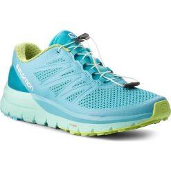 Buty SALOMON - Sense Pro Max W 400701 25 W0 Blue Curacao/Beach Glass/Acid Lime. Niebieskie obuwie sportowe damskie Salomon, z materiału. W wyprzedaży za 449.00 zł.