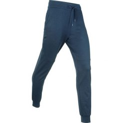 Spodnie dresowe termoaktywne funkcyjne, długie bonprix ciemnoniebieski melanż. Niebieskie spodnie dresowe damskie bonprix, melanż, z dresówki. Za 89.99 zł.