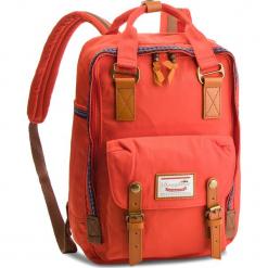 Plecak DOUGHNUT - D010BH-0024-F Macaroon Bo-He Pumkin. Brązowe plecaki damskie Doughnut, z materiału. Za 359.00 zł.
