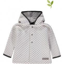 Bluza w kolorze biało-czarnym. Białe bluzy dla dziewczynek bellybutton, z bawełny. W wyprzedaży za 72.95 zł.