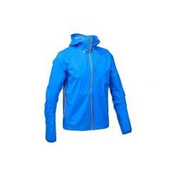 Kurtka turystyczna FH500 Helium Rain męska. Niebieskie kurtki męskie QUECHUA. Za 299.99 zł.