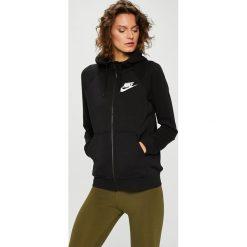Nike Sportswear - Bluza. Brązowe bluzy damskie Nike Sportswear, z bawełny. Za 279.90 zł.