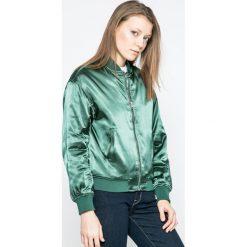 Calvin Klein Jeans - Kurtka Padded Bomb. Szare kurtki damskie Calvin Klein Jeans, z jeansu. W wyprzedaży za 399.90 zł.