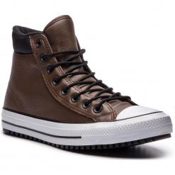 Trampki CONVERSE - Ctas Pc Boot Hi 162413C Chocolate/Black/White. Brązowe trampki męskie Converse, z gumy. W wyprzedaży za 319.00 zł.