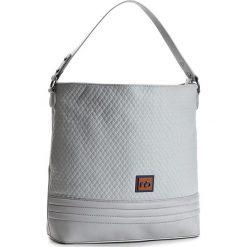 Torebka NOBO - NBAG-C1960-C019 Szary. Szare torebki do ręki damskie Nobo, ze skóry ekologicznej. W wyprzedaży za 139.00 zł.