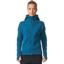 Adidas Bluza damska ZNE Hood2 Pulse niebieska r.M (BQ0117). Bluzy sportowe damskie Adidas. Za 303.18 zł.