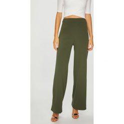 Answear - Spodnie. Szare spodnie materiałowe damskie ANSWEAR, z dzianiny. W wyprzedaży za 69.90 zł.