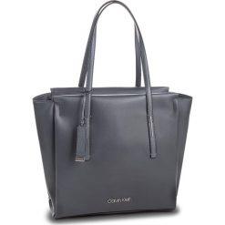 Torebka CALVIN KLEIN - Frame Large Shopper K60K604453 008. Szare torebki shopper damskie Calvin Klein, ze skóry ekologicznej. Za 649.00 zł.